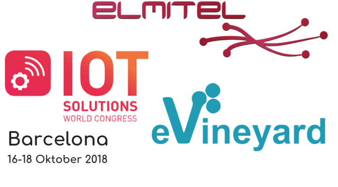 Vabilo na IoT World Congress, Barcelona 2018